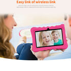 """7"""" Quad-core Android 7.1 Wi-Fi Tablet PC Dual Camera for Kids Education 1GB+16GB"""