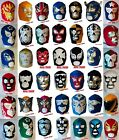 Wrestling Mask Halloween Mexican Lucha Libre Maschera Masque Adult Fancy Dress