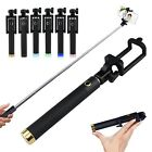 Foldable Wired Selfie Stick Telescopic Monopod For Huawei P20/Pro Lite Mate10 P9