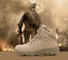 Delta Military Tactical Desert Hunting Lightweight Combat Shoes Leather Boots