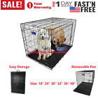"""Small Dog Large Dog Crate 48""""/42""""/36""""/30""""/24""""/18"""" Folding Pet Cage XXL Kennel, used for sale  Buena Park"""
