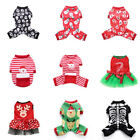 Winter Warm Clothes Pet Puppy Dog Cat Jumpsuit Christmas Cosplay Costume Apparel