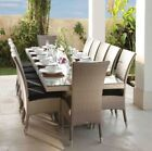 New! Modern Outdoor Dining Set Table Chairs Rattan Garden Pool Patio Furniture