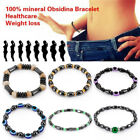 Magnetic Bracelet Bangle Beads Hematite Stone Therapy Health  Women JewelryBLUS