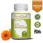 Marigold Extract Capsules 20% Lutein w/- Zeaxanthin Eye Health Vision Supplement $4.49 USD on eBay
