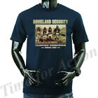 Homeland Security Fighting Terrorism Since 1492 Native American Indian T-shirts