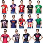 Kyпить Women Compression Marvel Superhero 3D Print T-shirt Gym Fitness Sports Spiderman на еВаy.соm
