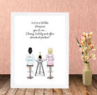 Personalised+HQ+Box+Framed+Print+Best+Friend+Christmas+Gift+Prosecco+Present+NF1