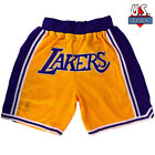 LAKERS Basketball Team Shorts Lebron James Summer League Size S-2XL Ins Style US <br/> Breathable,Sweat-absorbent Fabric,US Seller Faster Ship