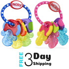 Baby Teething Ring Ice Gel Key Toys For Infants BPA Free Gum Chewing Teethers