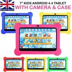 """7"""" Android 4.4 Kids Tablet Pc Quad Core Wifi Camera Child Children Gift Lot Mj"""