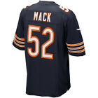 Mens Chicago Bears 52 Khalil Mack Blue 2018 Football Jersey S 3XL