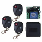 Relay DC12V 7A 1CH Wireless Remote Control Switch Transmitter ReceiverST