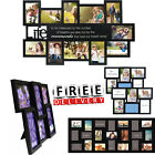 Photo Frame Set Format Lot Wall Art Home Decor Gift Float Picture Frames Collage