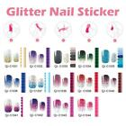 Nail Art Wraps Stickers Water Decals Glitter Series Manicure Nail Beauty Polish
