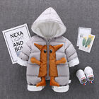 Winter Baby Romper Clothes Thick Warm Newborn Boy Jumpsuit Overalls Clothing