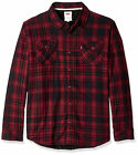Levi's Men's Thorton Sherpa Lined Flannel Plaid Long Sleeve Button Shirt Jacket