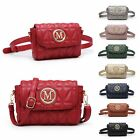 Ladies Quilted Festival Bum Bag Belt Bag Cross Body Shoulder Bag Handbag MA36210