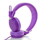Kids/Children Headband Earphones Over Wired Ear Headphones for iPad Tablet