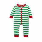 Infant Kids Baby Boys Girls Outfit Christmas Pajamas Jumpsuit Sleepwear Clothes