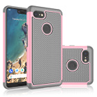 For Google Pixel 3 / Pixel 3 XL Shockproof Hybrid Rugged Rubber Hard Case Cover