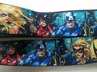 Marvel Comics Buckle-down Products adjustable nylon guitar strap