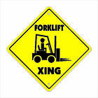 """Внешний вид - Forklift Xing Crossing Sign Zone Xing 