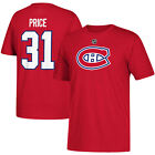 Youth Montreal Canadiens Carey Price Red Name And Number Player Jersey T Shirt