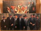"2 Different Peaky Blinders Canvas designs  24""x 10"" On A Wooden Stretcher Frame"
