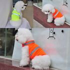Unisex Pet Dog Fluorescent Reflective Safety Vest Puppy Coat Apparel Outwear USA