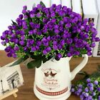36heads Artificial Silk Flowers Bunch Wedding Home Grave Outdoor Bouquet #in9