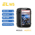 E&L W5 Android 4.0' 4G Smartphone Quad Core 8GB IP68 Waterproof Bluetooth 4.0 EU