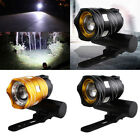 UK T6 LED Front Bicycle Bike USB Rechargeable Head Light Torch Headlight Lamp