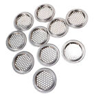 10Pcs Stainless Steel Sink Strainer Cover Kitchen Cabinet Basin Bath Louver