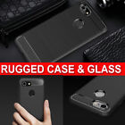 For Google Pixel 3 3 XL New 360 Shockproof Case Cover & Tempered Glass Protector