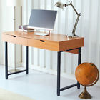 RayGar Office Computer Desk with 2 Drawers PC Table Study Workstation Home