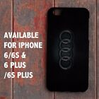 Audi logo RS S style sport car THIN for iPhone Case XS MAX XR etc