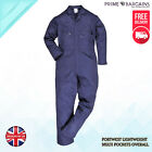 Portwest Dubai Coverall Safty Light Weight Boiler Suit Cutton Zip Work Wear C812