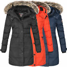 Geographical Norway Damen Mantel Jacke Wintermantel Parka lang Winterjacke Calor