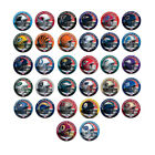 32 Teams NFL Football 999.9 Silver Plated Silver Coin Commemorative Metal Crafts $4.66 CAD on eBay