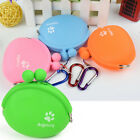 Silicone Dog Water Storage Snacks Wallet Training Treat Pouch Pet Food Bag