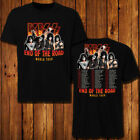 Kiss 2019 World Tour 'End of the Road' T-shirt 2 SIDE all size S - 5XL image