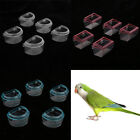 5xAcrylic Bird Feeder Cage Hanging Clear Feeder Dish Food Dispenser Pet Supplies