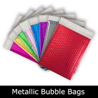 All Sizes Metallic Bubble Envelope Bags Foil Gloss Postal Coloured Pouches