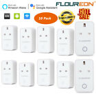 10 x 3G/4G WiFi Smart UK Plug Timer Socket Alexa App Remote Control Power Switch