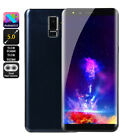 "S9 Big Screen 5.7"" Inch Lte Smartphone Dual Sim Android 6.0 Mobile Phone Gps Rw"