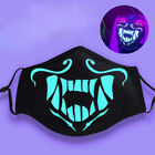 Внешний вид - LOL League of Legends K/DA Kda Akali Cosplay S8 Face Mask Night Lights Luminous