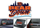 Chicago Bears Bear Down Football Vinyl Decal on eBay