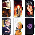 PIN-1 Anime Naruto Series B Phone Wallet Flip Case Cover for Samsung
