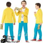 Boys Charlie and the Chocolate Factory Costume Roald Dahl Charlie Bucket 4-12y